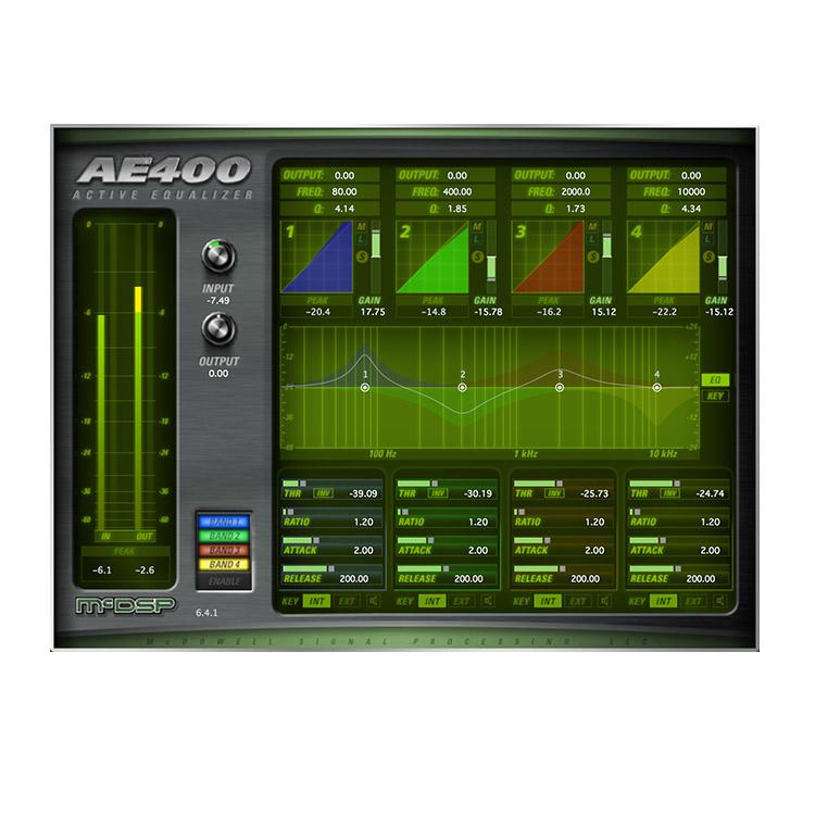 McDSP AE400 Active EQ, EQ Plug-ins