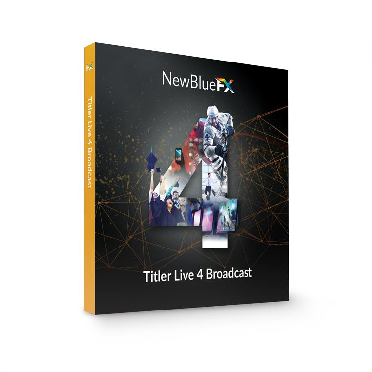 NewBlueFX Titler Live Broadcast