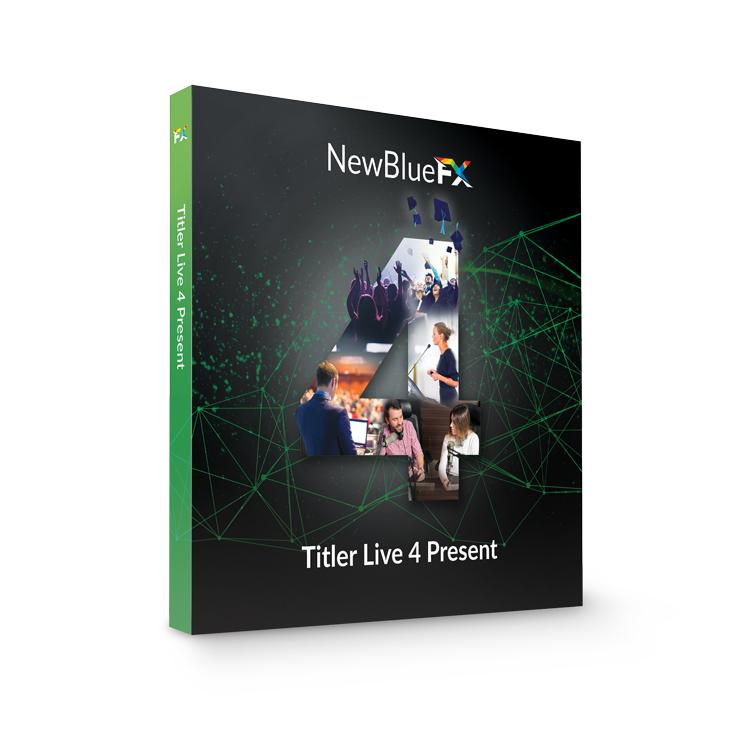 NewBlueFX Titler Live Present