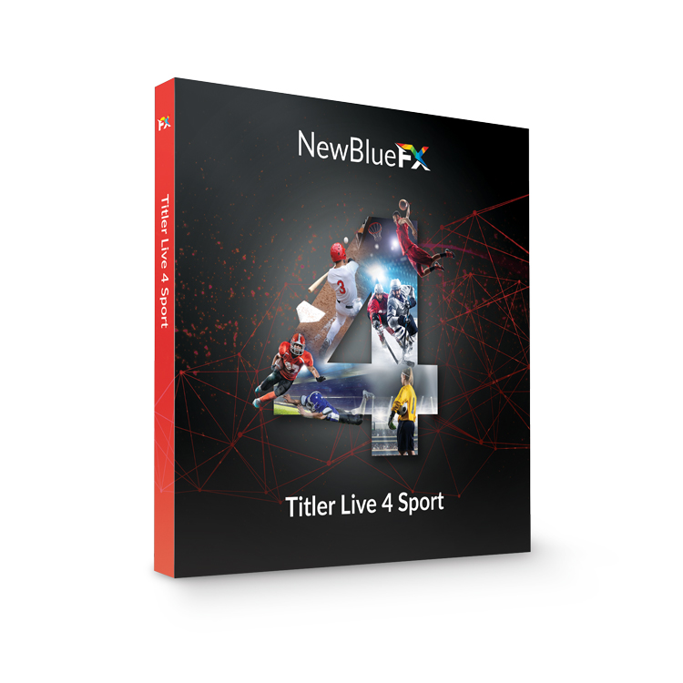 NewBlueFX Titler Live Sport