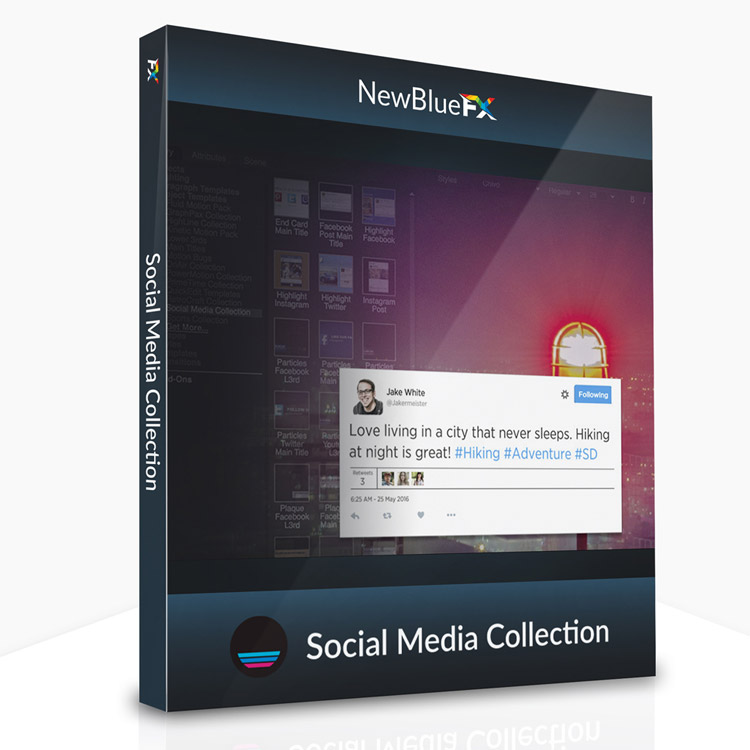 newbluefx social media collection