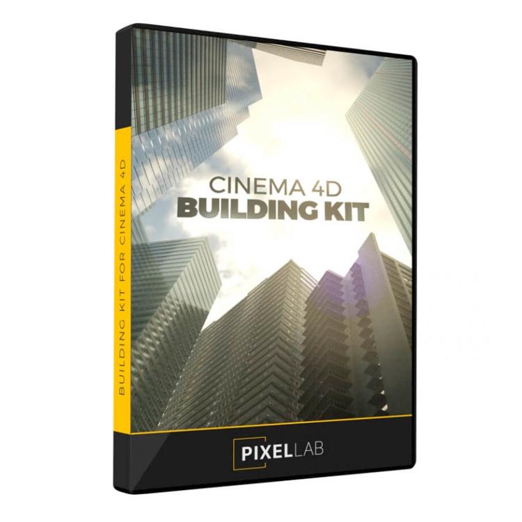 pixel lab cinema 4d building kit