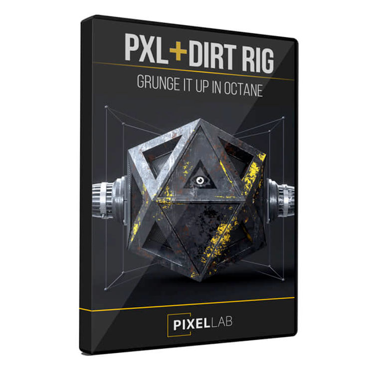 Using Displacement with PXL + Dirt Rig for Octane and Cinema 4D