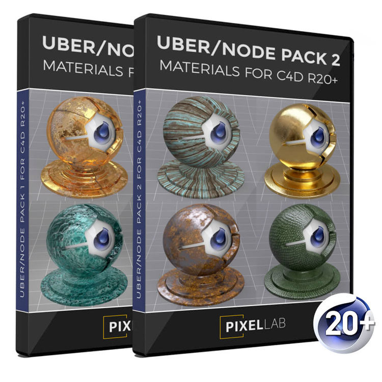 pixel lab uber node pack bundle