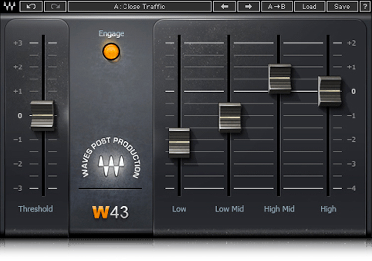 Waves W43 Noise Reduction Plug-in - Toolfarm
