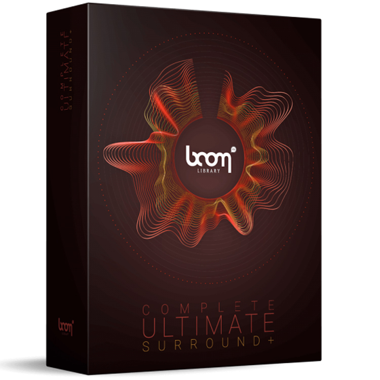 BOOM Library The Complete BOOM Ultimate - 3D Surround