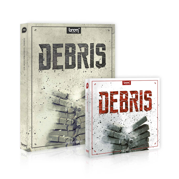 BOOM Library SFX Debris Bundle (Designed + Construction Kit)