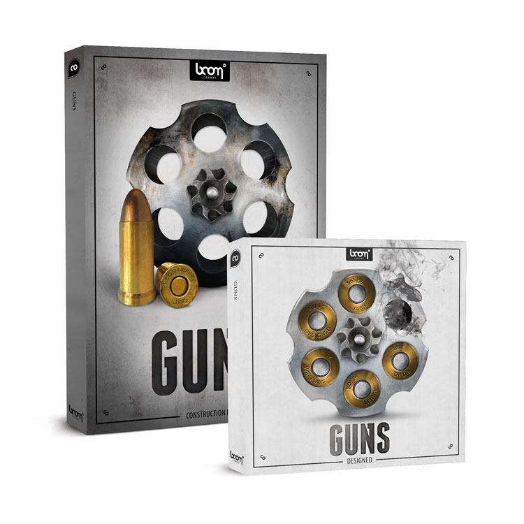 BOOM Library SFX Guns Bundle (Designed + Construction Kit)