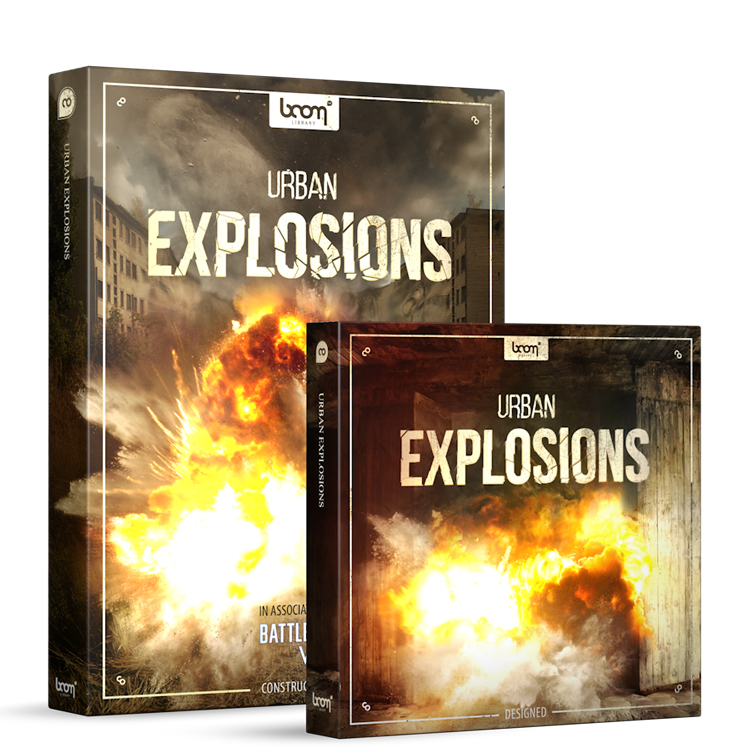BOOM Library SFX Urban Explosions - Bundle (Designed + Construction Kit)
