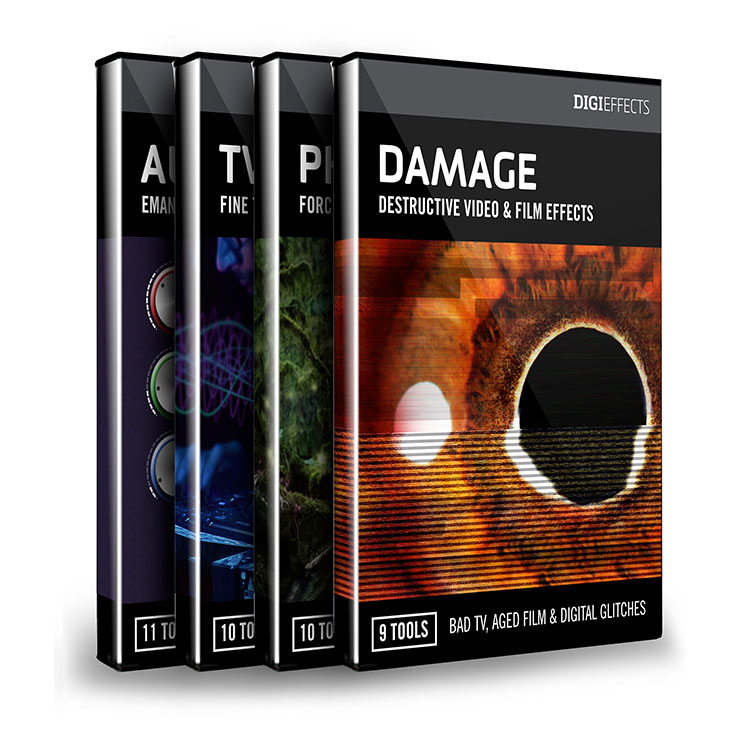 Digieffects DIGISUITE (Damage, Phenomena, Tweak & Aura)