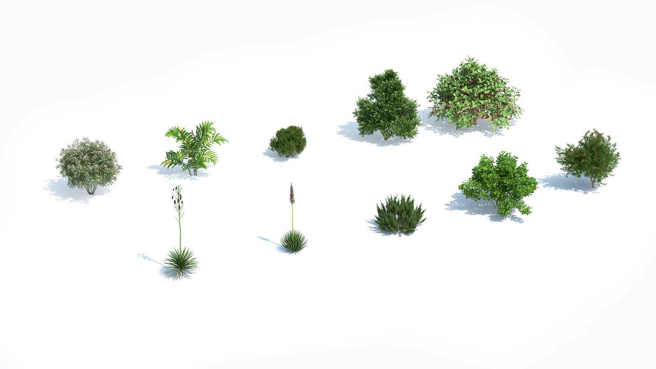 laubwerk plants kit 12 fall