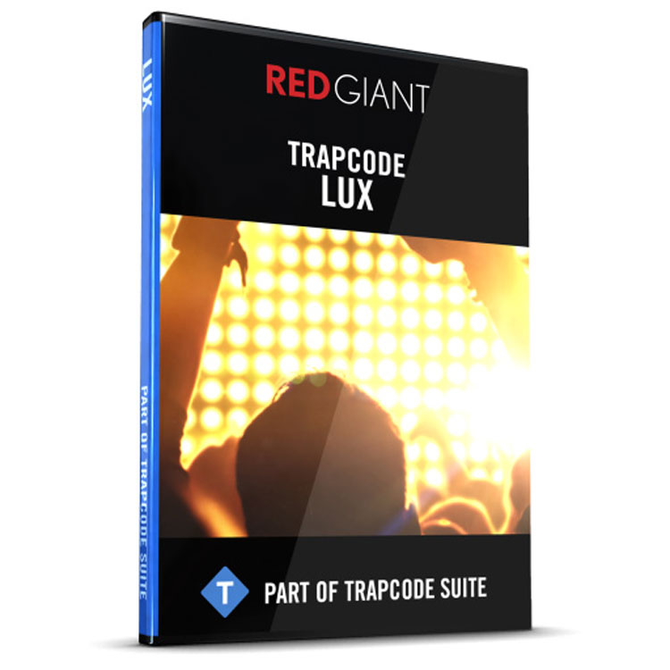 Red Giant Trapcode Lux