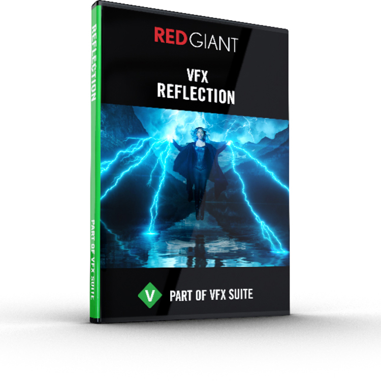 Red Giant VFX Reflection