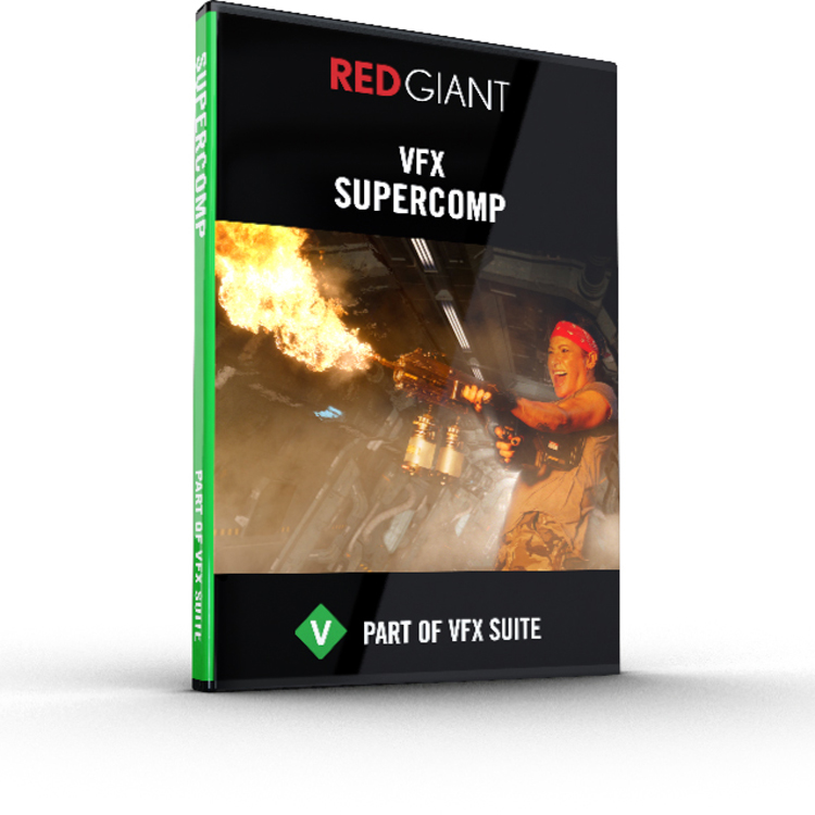 Red Giant VFX Supercomp