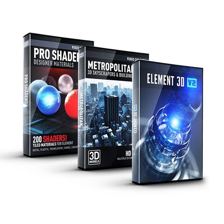 Video Copilot 3D Architecture Bundle