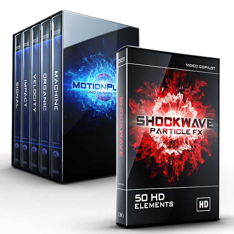 Video Copilot MotionPulse Audio SFX - BlackBox Shockwave Bundle