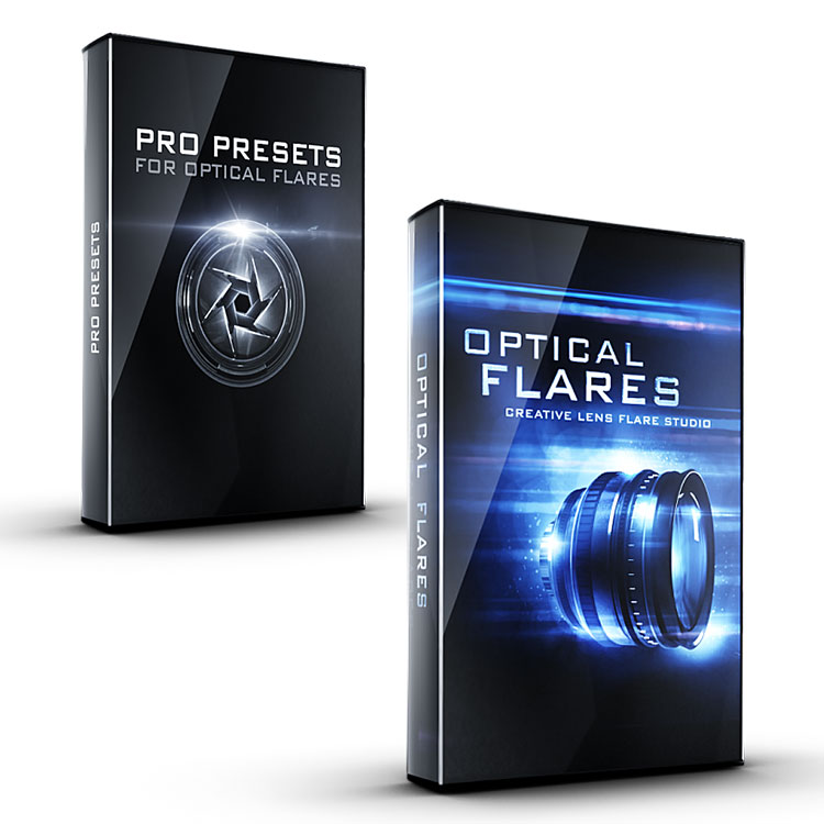 Video Copilot Optical Flares Plug-in for After Effects & Pro Presets I Bundle