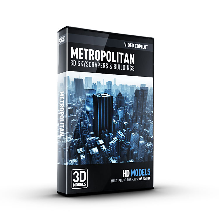 Video Copilot 3D Model Pack - Metropolitan