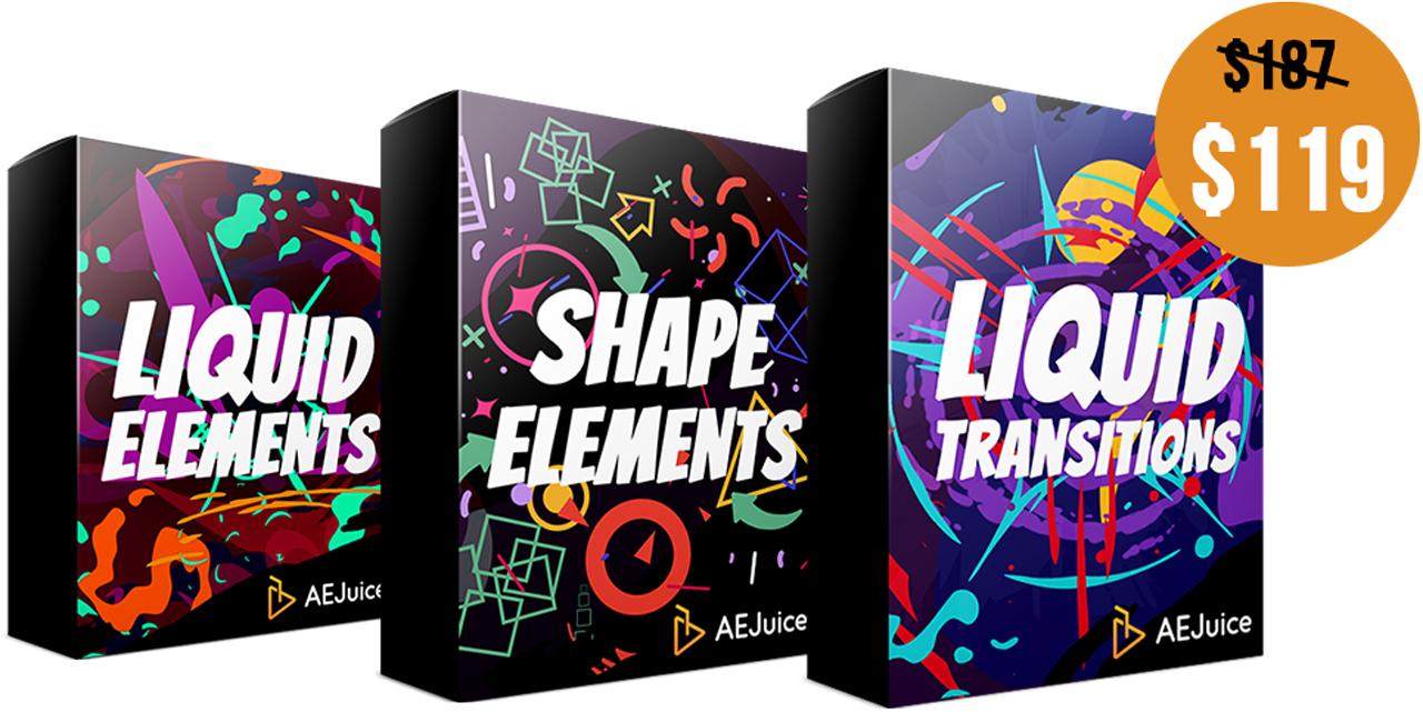 aejuice motion design bundle