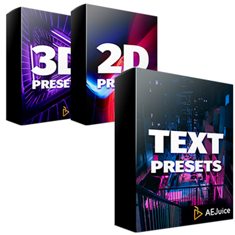AEJuice Animation Presets Bundle