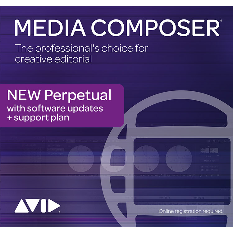 Avid Media Composer | Perpetual License