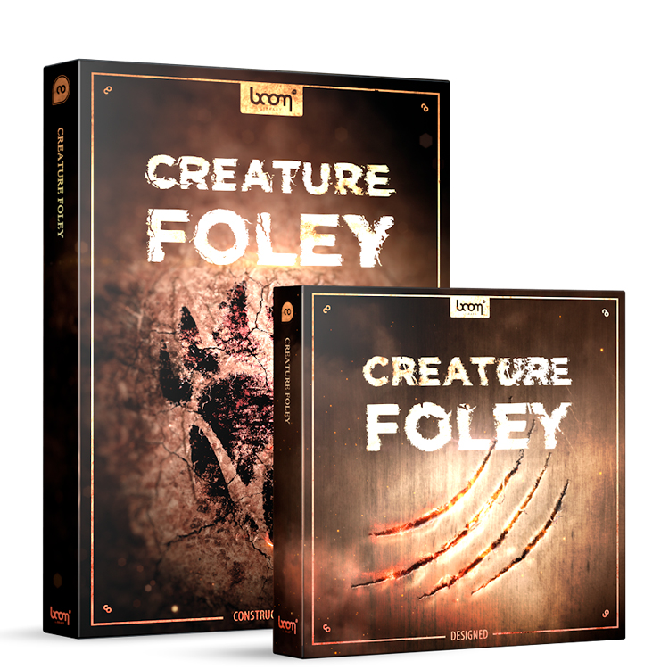 BOOM Library Creature Foley - Bundle (Designed + Construction Kit)