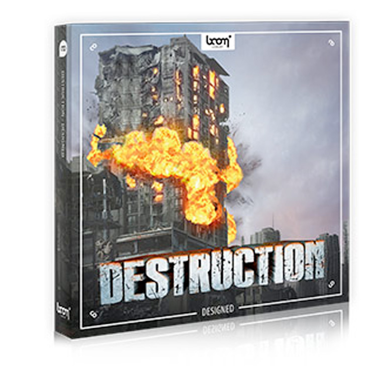 BOOM Library SFX Destruction - Designed