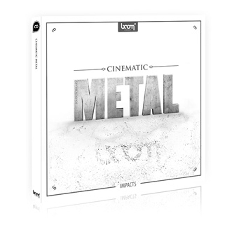BOOM Library SFX Cinematic Metal - Impacts