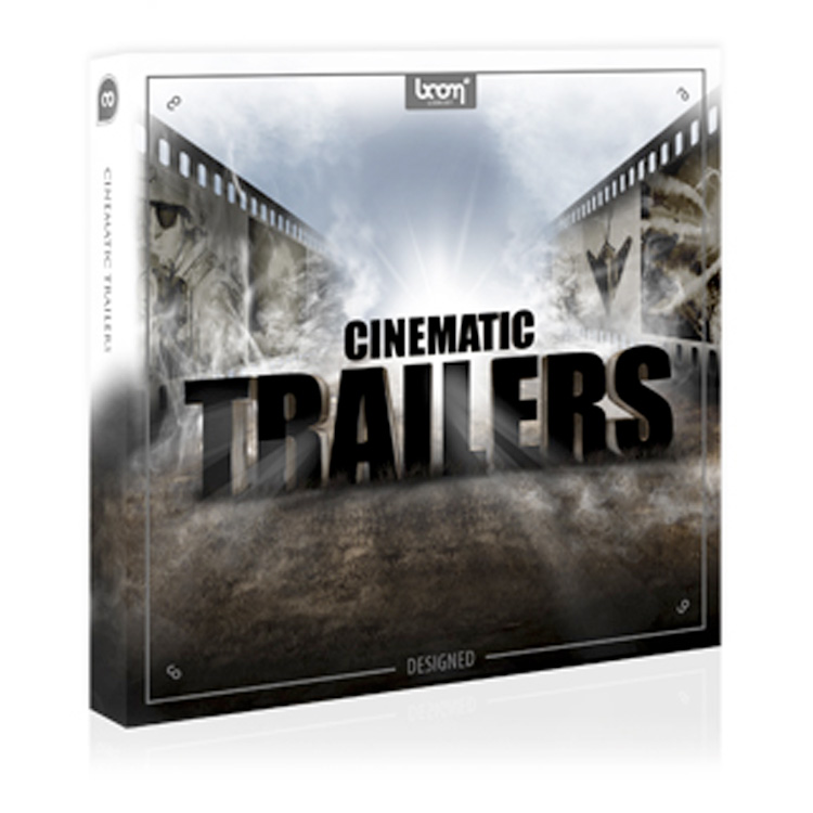 BOOM Library SFX Cinematic Trailers - Designed