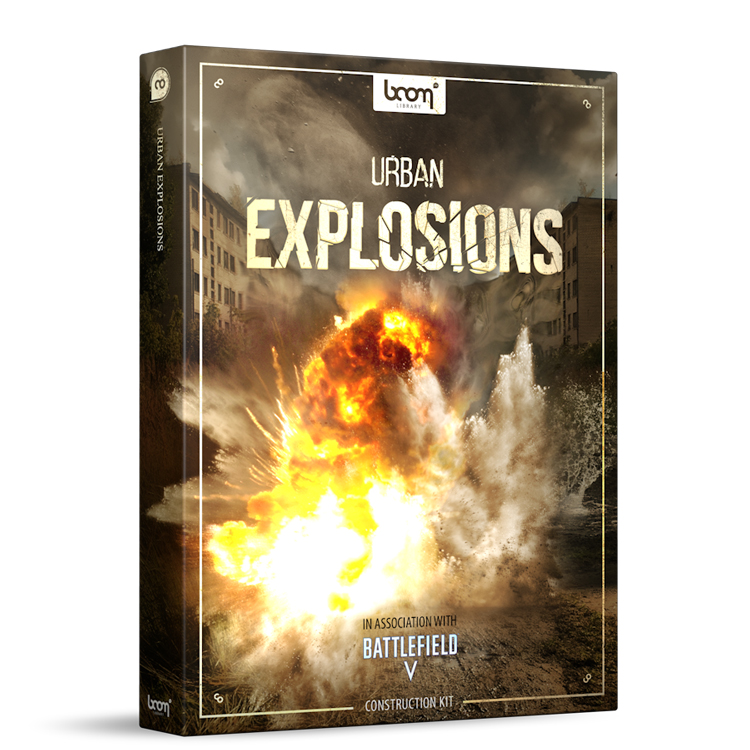 BOOM Library SFX Urban Explosions - Construction Kit
