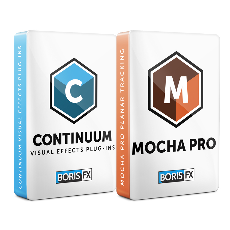 Boris FX: Continuum and Mocha Pro Bundle
