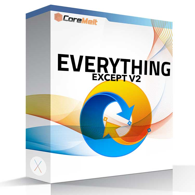 CoreMelt Everything Except V2 Bundle (Lock and Load + SliceX + TrackX + DriveX + Chromatic + PaintX)