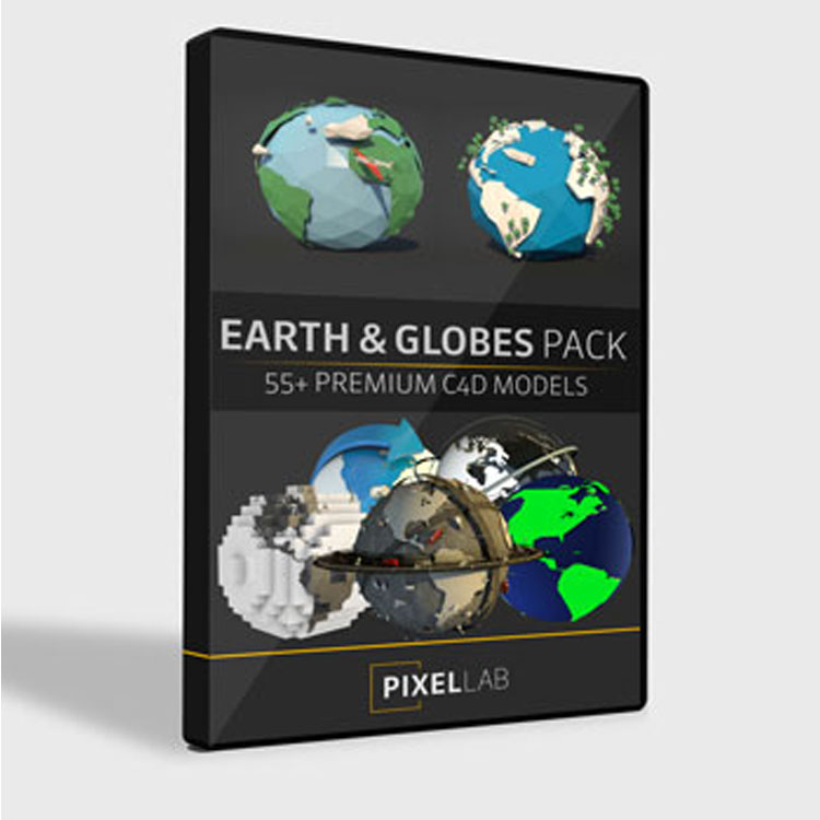 Pixel Lab Earth and Globe Pack