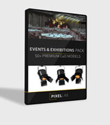 Pixel Lab Events / Exhibitions Pack