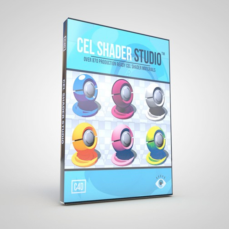 eyedesyn Cel Shader Studio for Cinema 4D