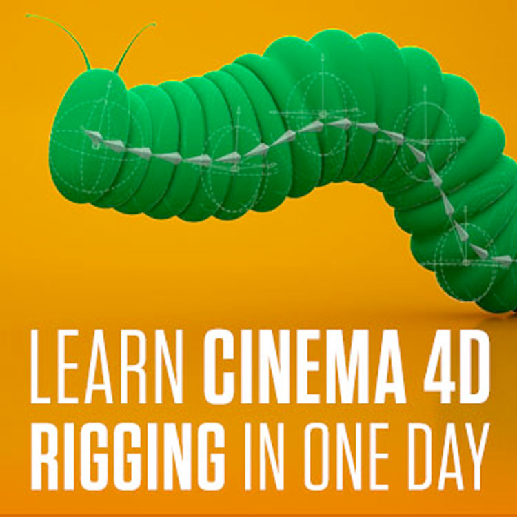 helloluxx learn. Cinema 4D Rigging In One Day