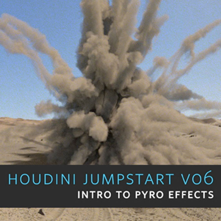 helloluxx learn. Houdini Training: Jumpstart Vol. 6 – Intro to Houdini Pyro Effects