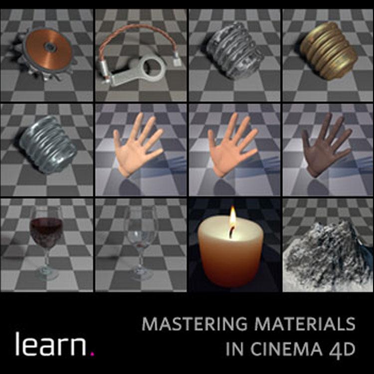 helloluxx learn  Cinema 4D Training: Mastering Materials Part 2