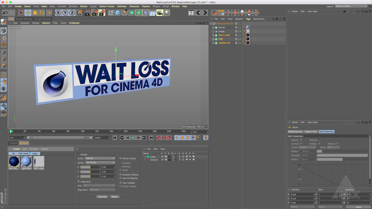 wait loss for cinema 4d materials