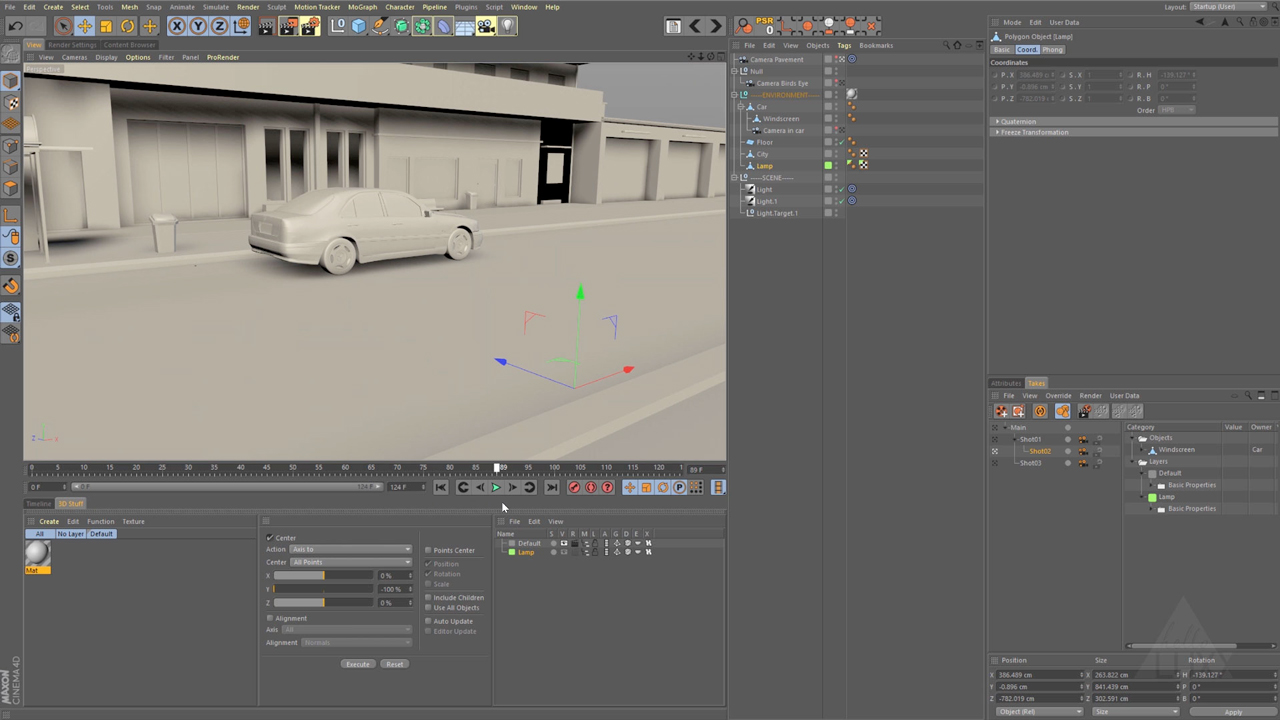 wait loss for cinema 4d takes