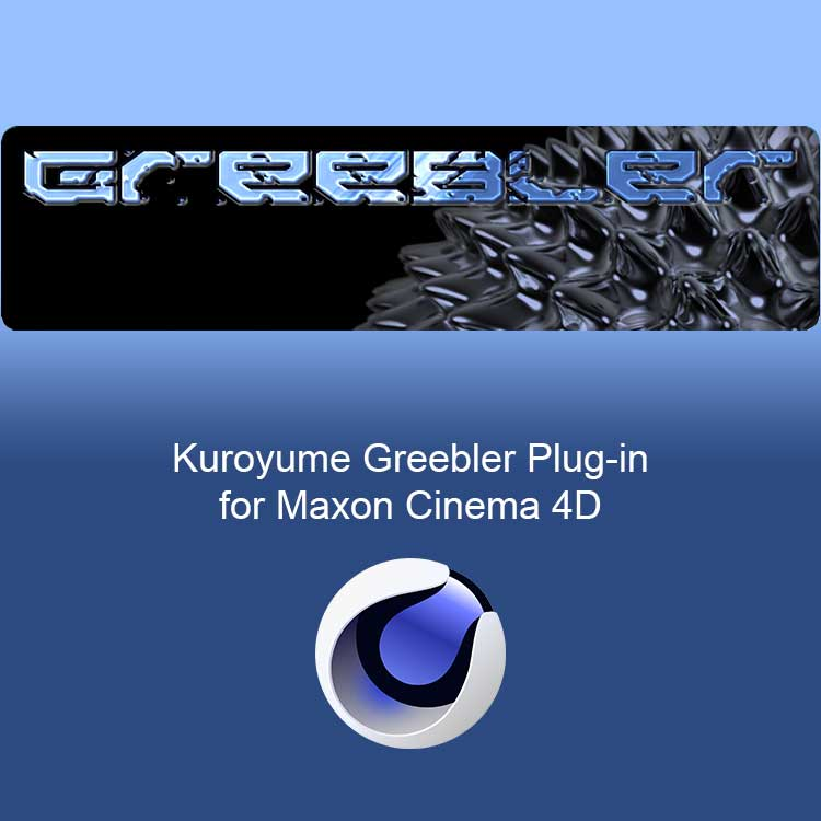 News: Kuroyume Greebler Works in Cinema 4D R20 with Insydium