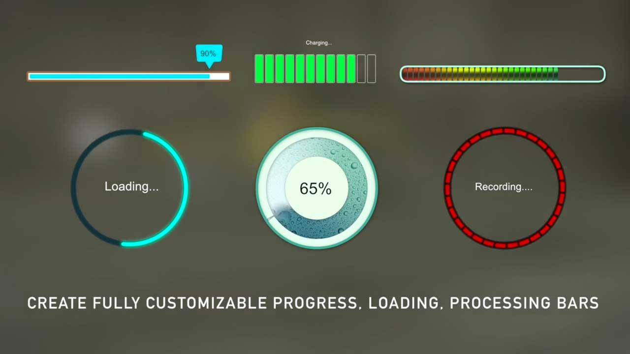 luca visual fx progress bars