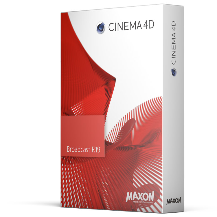 maxon cinema 4d broadcast