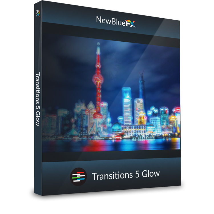 NewBlueFX Transitions Glow