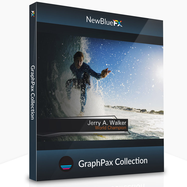 NewBlueFX GraphPax Collection for Titler Pro