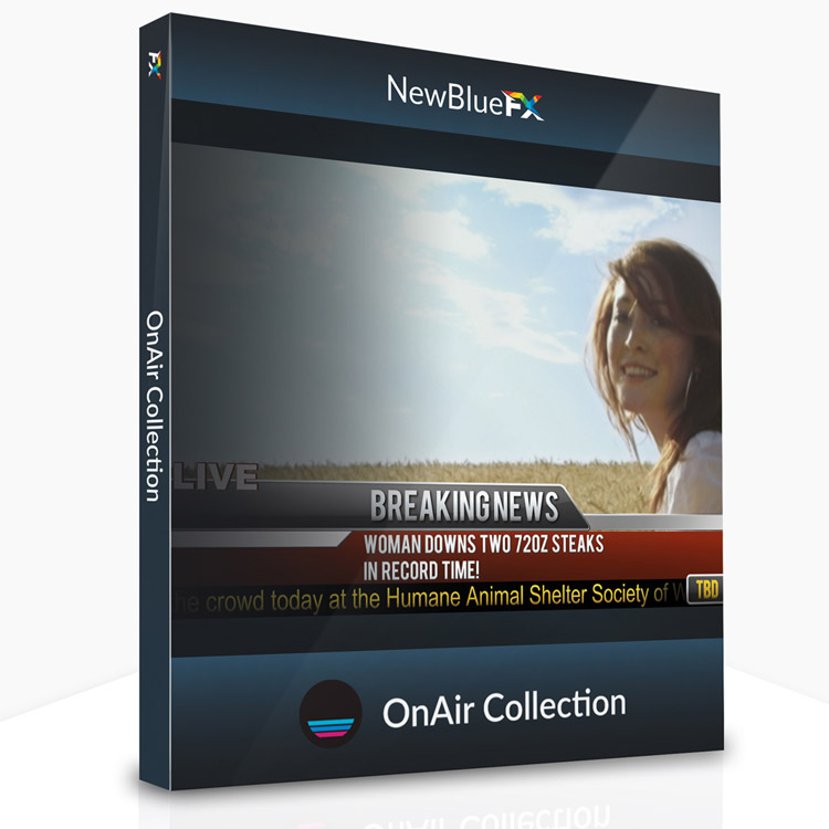 NewBlueFX OnAir Collection for Titler Pro