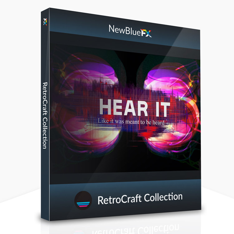 NewBlueFX RetroCraft Collection for Titler Pro