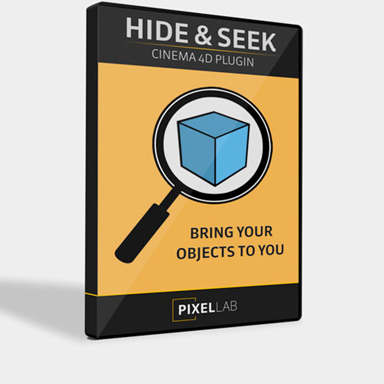 The Pixel Lab Hide and Seek for Cinema 4D