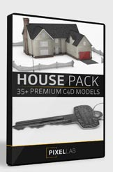 Pixel Lab 3D House Pack