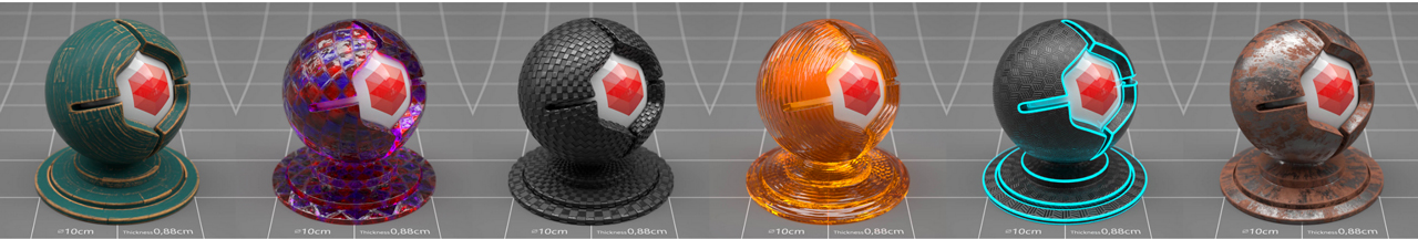 the pixel lab redshift materials pack 3